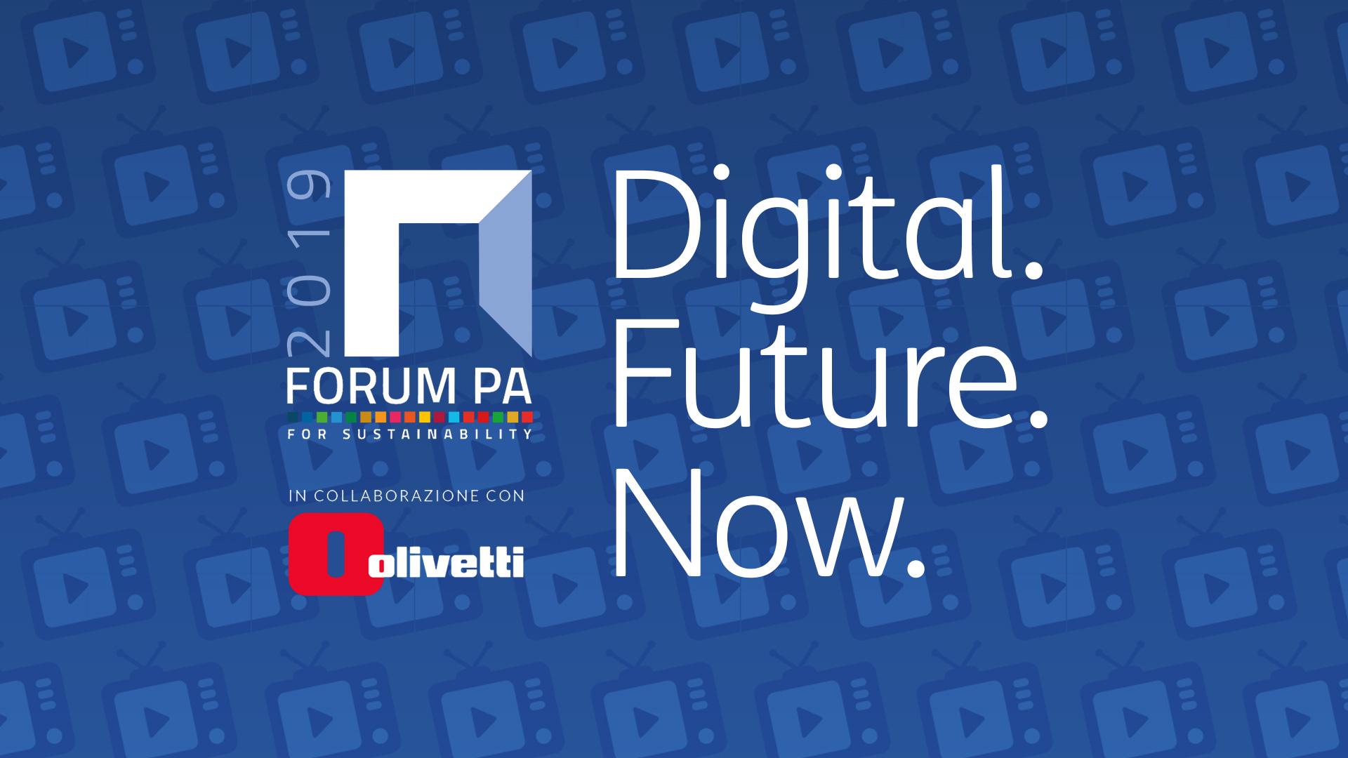 In diretta dagli STUDIOS FPA in collaborazione con Olivetti: ecco il palinsesto